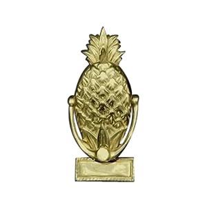 Mayer mill brass pks 1 small pineapple door knocker - Pineapple door knocker ...