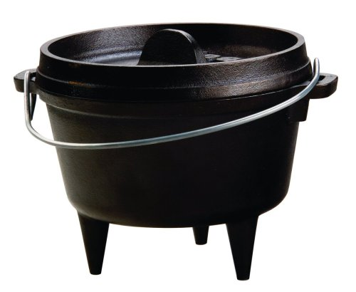 Lodge Camp Dutch Oven, 1 Qt (Lodge Cast Iron Small Dutch Oven compare prices)