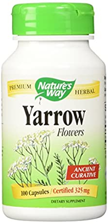 buy Nature'S Way - Yarrow Flowers 325 Mg, 100 Veggie Caps
