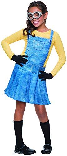 Rubie's Costume Minions Female Child Costume, Large