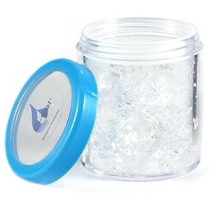 Crystal Clear Jar Humidifier for Cigar Humidor