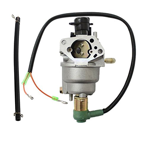 HIPA Carburetor with Solenoid and Hose Tube for HONDA GX390 13hp Generator (Diaphragm Carburetor Honda compare prices)