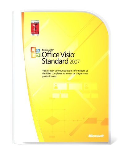 Microsoft Office Visio Standard 2007 - Ensemble Complet - 1 Pc - Cd - Win - Français