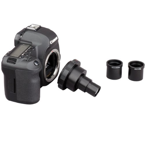 Amscope Ca-Can-Nik-Slr Canon And Nikon Slr/Dslr Camera Adapter For Microscopes