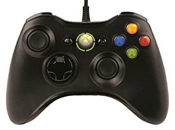 マイクロソフト有線 ゲーム コントローラーXbox 360 Controller for Windows リキッド ブラック 52A-00006