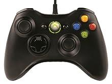 <モンスターハンター フロンティアオンライン推奨> マイクロソフト有線 ゲーム コントローラーXbox 360 Controller for Windows リキッド ブラック 52A-00006