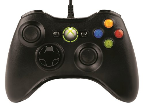 Game controller wired Xbox 360 Controller for Windows Microsoft Liquid Black [Recommended Monster Hunter Frontier Online] 52A-00006