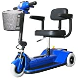 3 Wheel Compact Scooter Color: Blue