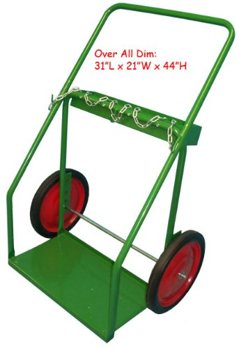 Welding Cart Oxygen Acetylene Cylinder Tank Dolly - Large
