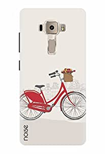 Noise Designer Printed Case / Cover for Asus Zenfone 3 ZE552KL With 5.5 Inches Screen / Vintage / Go Cycle Design