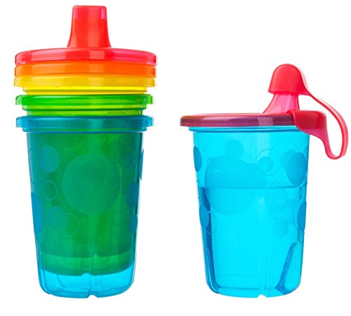 The First Years Spill-Proof Cups, Take and Toss, 10 Ounce,  8-Count