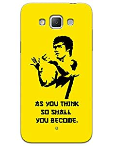 Bruce Lee (As You Think, So Shall You Become.) case for Samsung Galaxy Grand On G550
