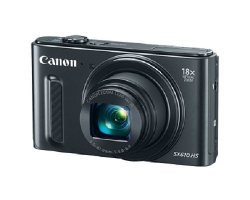 Canon PowerShot SX610 HS - Wi-Fi Enabled (Black) (Canon Sx600 Hs Camera compare prices)