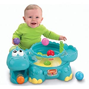 Fisher-Price Go Baby Go Poppity-Pop Musical Dino