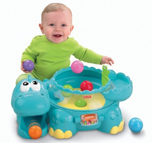 Fisher-Price Go Baby Go! Poppity Pop Musical Dino