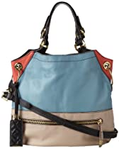 Hot Sale Oryany Handbags Sydney SE402 Shoulder Bag,Azzuro Multi,One Size