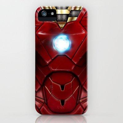 Society6/ソサエティシックス iphone5/5Sケース アイアンマン Mark_VII_restyled