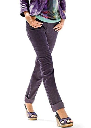 Alba Moda -  Jeans  - Jeans aderenti - Donna viola W36