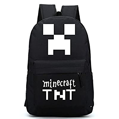 Minecraft Outdoor backpack schoolbag Waterprof Game Theme Cartoon Schoolbag from Minecraft
