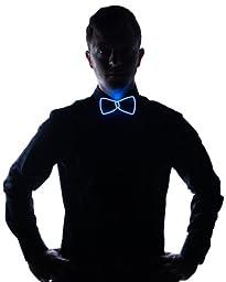 Light Up Bow Tie (Blue)
