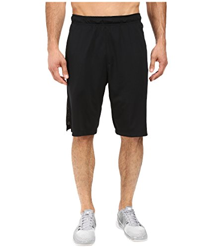 New Nike Men's Hyperspeed Knit Shorts Tumbled Black/Black/Black X-Large
