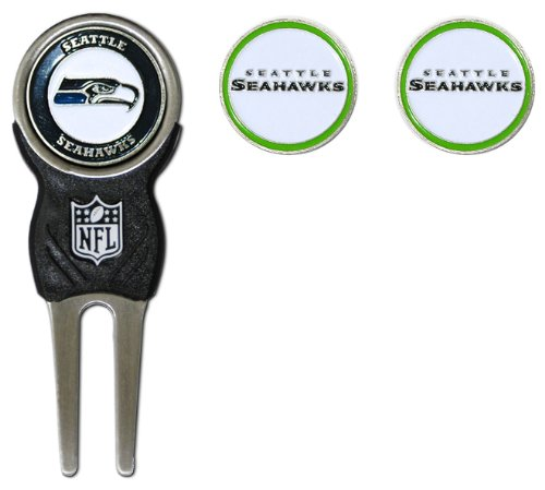 NFL Seattle Seahawks Signature Divot Tool and 2