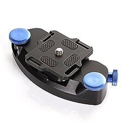 Magideal Fast Loading Waist Belt Buckle Mount Capture Camera Clip Adapter for DSLR