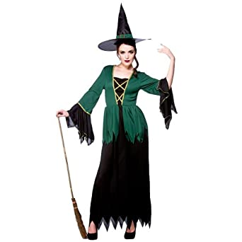 Cauldron Witch - Adult Costume Lady : X LARGE