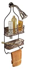 InterDesign Twigz Shower Caddy Bronze