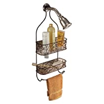 InterDesign Twigz Bronze Shower Caddy