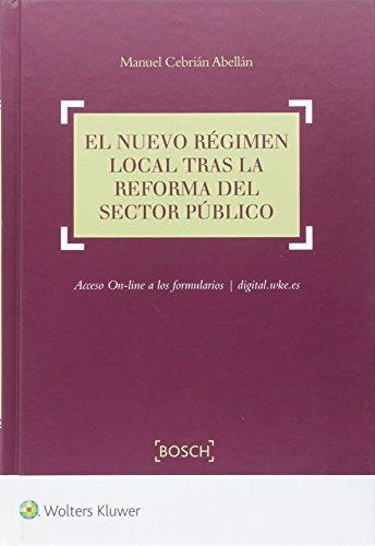 Nuevo régimen local tras la reforma del sector público,El