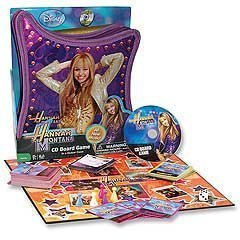 Hannah Montana CD Board Game in Purple Guitar Case All New Music