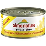 Almo Nature Classic Katzenfutter Hühnerschenkel (70g), 6er Pack (6 x 70 g)