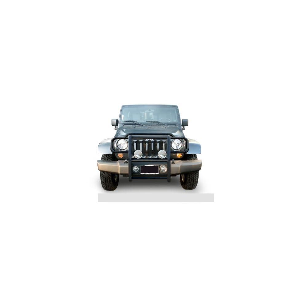 2007 Jeep Wrangler 4 Door Black Grille Guard