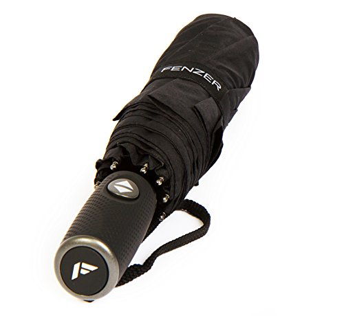 windproof-teflon-coated-travel-umbrella-auto-open-close-travel-stylish-black-lightweight-design-for-