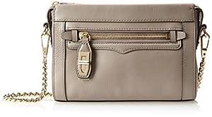Rebecca Minkoff Mini Cross-Body Handbag,Taupe,One Size