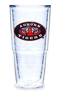 Tervis Tumbler Auburn University-Tiger Eye 24-Ounce Double Wall Insulated Tumbler, Set of 2