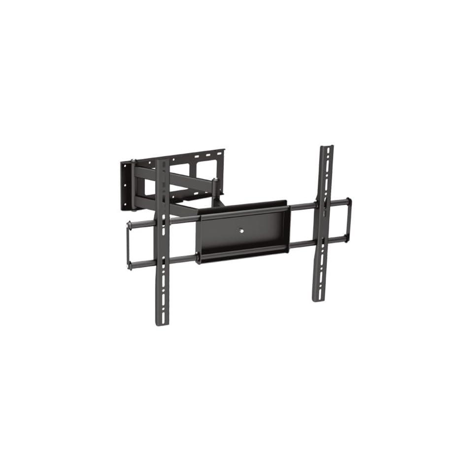 Black Full Motion Tilt/Swivel Corner Friendly Wall Mount Bracket for Emerson LF501EM4 50 inch LCD HDTV TV/Television   Articulating/Tilting/Swiveling