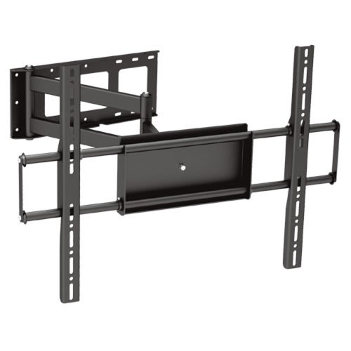 "Black Full-Motion Tilt/Swivel Corner Friendly Wall Mount Bracket For Hisense 55K610Gwnb 55"" Inch Led Hdtv Tv/Television - Articulating/Tilting/Swiveling"