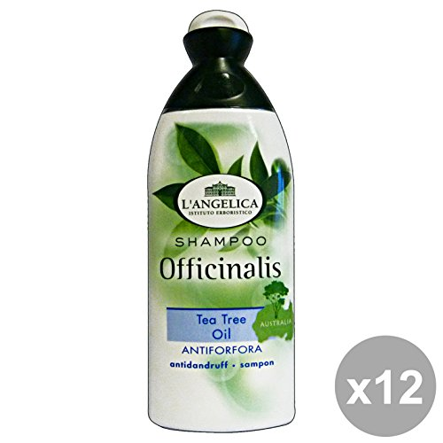 Set 12 L'ANGelICA Shampoo AntiForfora TEA TREE 250 Ml. Prodotti per capelli