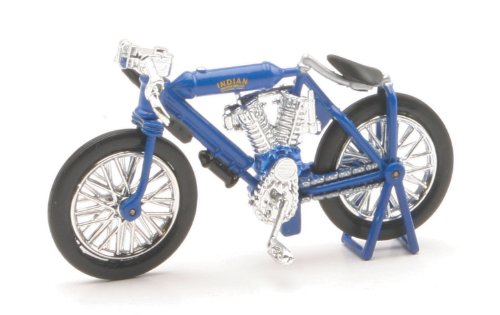 NewRay 1/32 Die-Cast Motorcycle: Indian 1908 Twin Racer