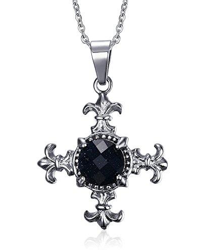 vnox-hommes-de-bijoux-vintage-en-acier-inoxydable-en-forme-de-fleur-de-lys-collier-pendentif-croix-p