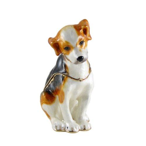 Swarovski Bejeweled Beagle Trinket Box
