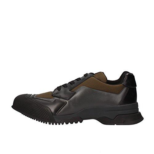 prada-sneakers-hombre-43-eu-negro-marron-cuero-textil-af142