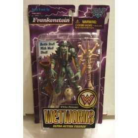 Whilce Portacio's Wetworks Frankenstein Todd McFarlane Toys Ultra Action Figure