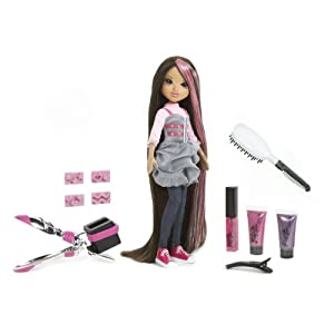 Moxie Magic Hair Stamp 'n' Style Doll -Sophina