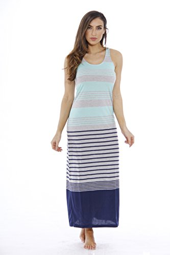 2092-80-MGN-L Just Love Racerback Maxi Dress / Summer Dresses for Juniors