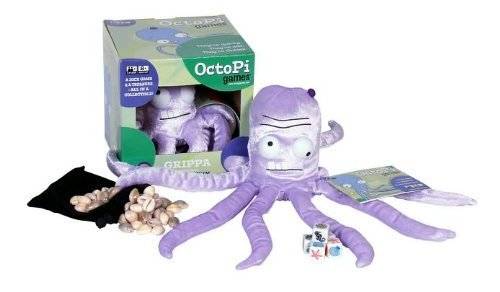 Octopi Games Grippa Sink or Swim Dice Octopus Game