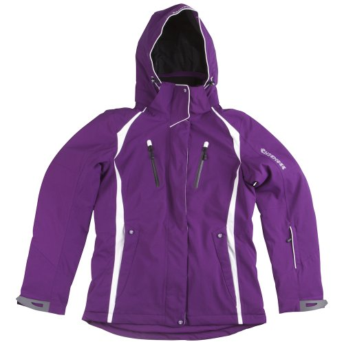 CHIEMSEE Damen SNOW JACKE NADINE, imperial purple, S, 25736-102