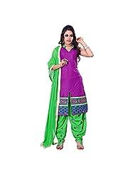 Kalaahari Women's Cotton Unstiched Salwar Suit - B00V9WG2VE